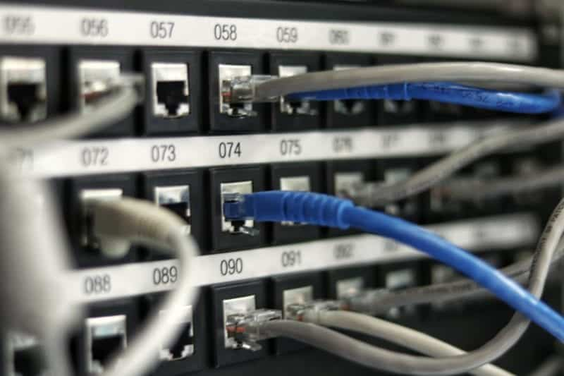 Cords of In-Office Server